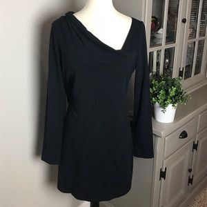 Lole Black Dress Organic Cotton Size Large